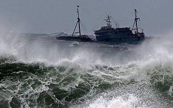 Thông tin bão số 5 - Noul: Gió giật cấp 10 tiến thẳng vào Trung Bộ