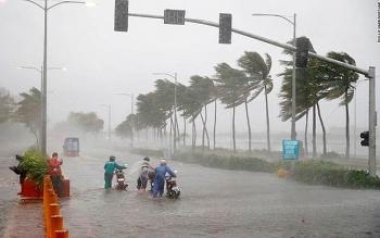 Thời tiết 17/9: Bão số 5 tăng cấp, Trung Bộ mưa lớn nhiều nơi
