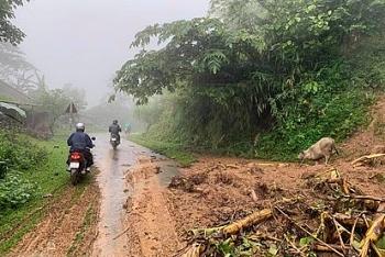 Thời tiết 30/9: Bắc Bộ mưa dông, cảnh báo sạt lở đất ở Gia Lai