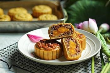 Công thức làm bánh nướng trung thu thập cẩm ngon 'nuốt lưỡi'