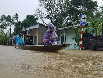 Thời tiết 10/10: Cảnh báo tin lũ khẩn cấp trên các sông từ Hà Tĩnh đến Thừa Thiên Huế