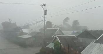 Diễn biến bão số 7: Đảo Bạch Long Vĩ đang có gió giật cấp 11