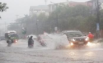 Thời tiết 16/10: Phong Điền - Huế và miền Trung có mưa to tăng dần