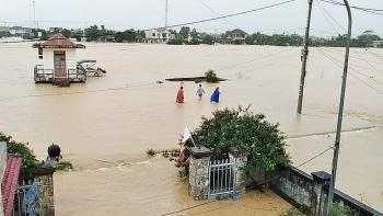 Thông tin tình hình mưa lũ ở Quảng Trị và các tỉnh miền Trung