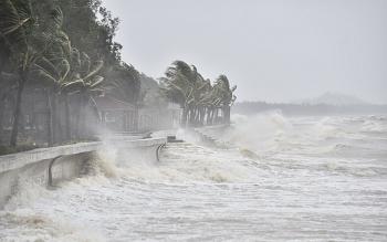 Diễn biến bão số 8: Cách đất liền 330km, gió giật cấp 11