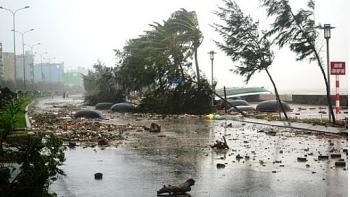 Diễn biến bão số 9 (bão Molave): Trưa 28/10 đổ bộ vùng biển các tỉnh từ Đà Nẵng đến Phú Yên, gió giật cấp 15