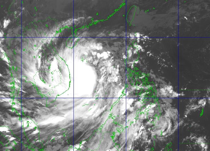 Diễn biến bão số 9: 13h ngày 28/10 đổ bộ vào đất liền từ Đà Nẵng đến Phú Yên