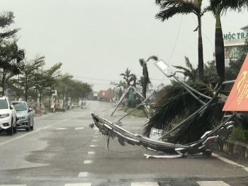 Tin cuối cùng bão số 9: Suy yếu thành áp thấp nhiệt đới, gió giật cấp 9