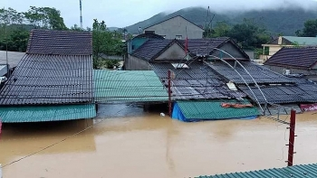 Diễn biến mưa lớn ở Bắc và Trung Trung Bộ: Trong chiều nay sẽ giảm mưa ở Nghệ An - Hà Tĩnh