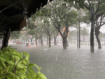 Tin áp thấp nhiệt đới (suy yếu từ bão số 10): Gây mưa lớn từ Huế đến Quảng Ngãi