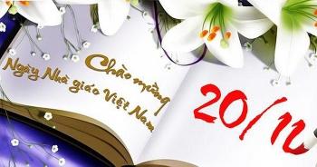Ngày nhà giáo Việt Nam 20/11 năm nay rơi vào thứ mấy?