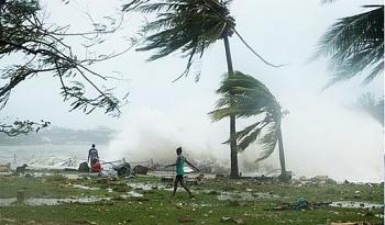 Bão số 12 đi vào các tỉnh Phú Yên đến Ninh Thuận, gió giật cấp 11
