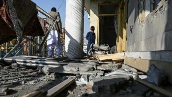 Hàng loạt tên lửa nã vào khu dân cư ở Afghanistan, 8 người dân thiệt mạng