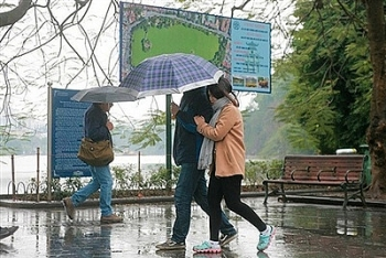 Thời tiết đêm 22 ngày 23/11: Không khí lạnh tràn về Bắc Bộ mưa rét