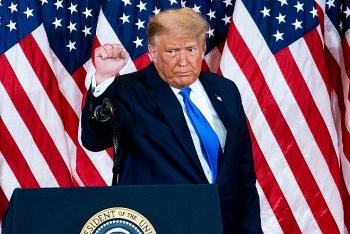 Ông Donald Trump vẫn phá kỷ lục phiếu bầu dù không phải là người chiến thắng