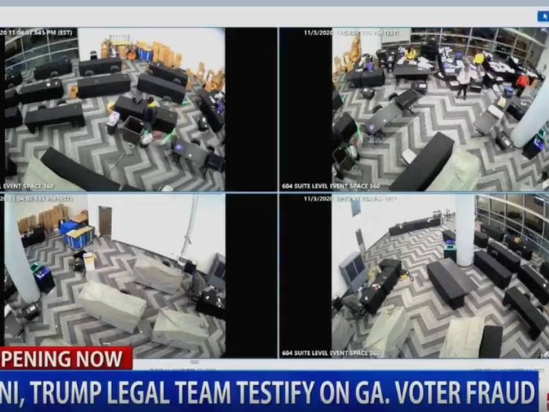 Phe ông Trump bất ngờ tung video cáo buộc gian lận bầu cử tại Georgia