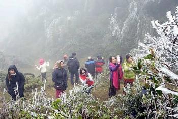 Thời tiết 14/12: Không khí lạnh cường độ mạnh bắt đầu ảnh hưởng vùng núi phía Bắc