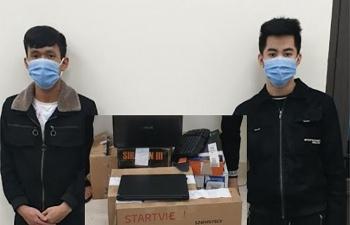 Hà Tĩnh: Bắt 2 thanh niên hack facebook lừa đảo, chiếm đoạt hơn 500 triệu đồng
