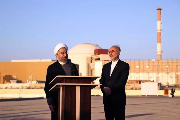 iran khoi dong lam giau uranium thach thuc my