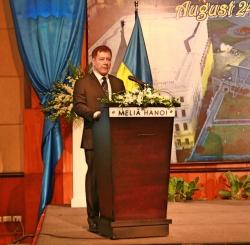 Kỷ niệm 28 năm Quốc khánh Ukraina: cộng đồng người Việt học tập và làm việc tại Ukraina chia vui