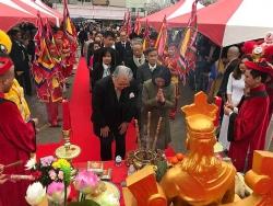 Giỗ tổ Hùng Vương tại Osaka (Nhật): Sợi dây gắn kết tình đồng bào