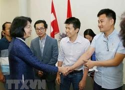 Phó Chủ tịch nước hoan nghênh tinh thần học tập, nghiên cứu của người Việt tại Thụy Sĩ