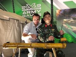 """""""Góc Việt Nam"""" tỏa sáng ở Army Games 2019"""