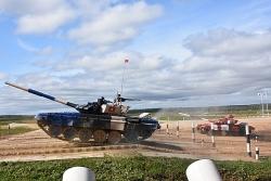 Việt Nam giành ngôi Á quân đua xe tăng tại Nga
