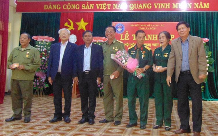 ra mat chi hoi thu hai cua hoi huu nghi viet lao tinh lam dong