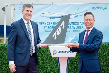 bamboo airways chinh thuc nhan boeing 787 9 dreamliner tai my
