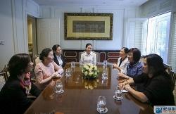 Việt Nam, Lào chung sức thúc đẩy hoạt động cán bộ ngoại giao nữ Cộng đồng ASEAN