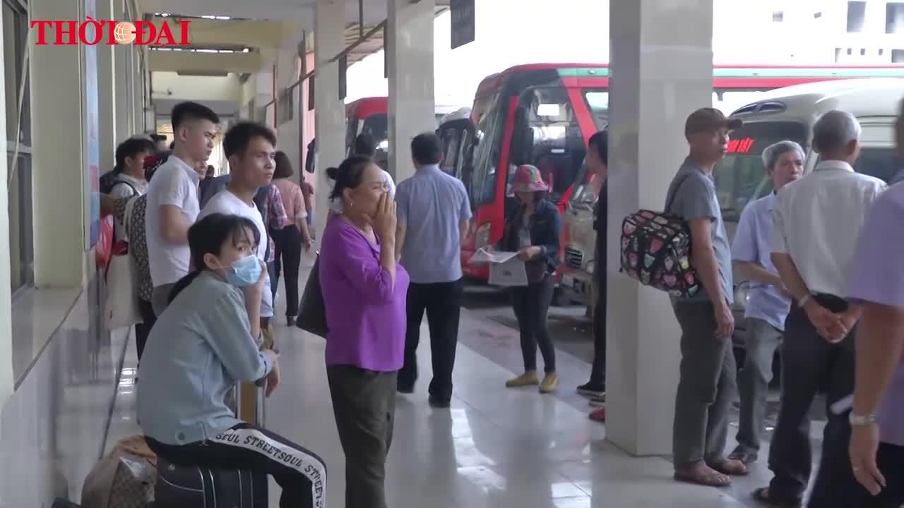 Video: Nghỉ lễ 30/4, nhà xe nhồi khách và tăng giá vé sẽ bị phạt rất nặng